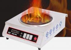 3500W凹面台式商用电磁炉小炒炉